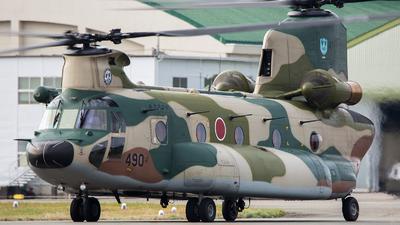 47-4490 - Kawasaki CH-47J Chinook - Japan - Air Self Defence Force (JASDF)