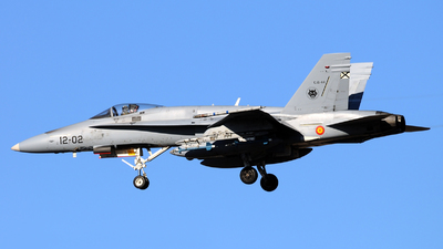 C.15-44 - McDonnell Douglas EF-18A+ Hornet - Spain - Air Force