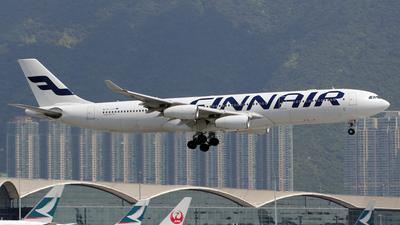 OH-LQC - Airbus A340-313E - Finnair