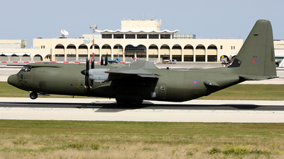 ZH875 - Lockheed Martin Hercules C.4 - United Kingdom - Royal Air Force (RAF)