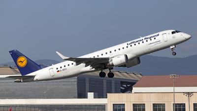 A picture of DAECI - Embraer E190LR - Lufthansa - © Manuel Llama - Benalmadena Spotters