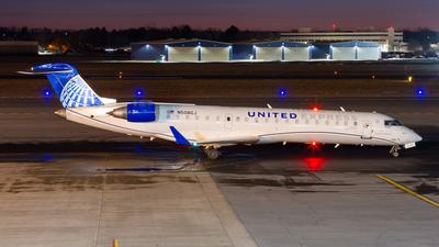 A picture of N508GJ - Mitsubishi CRJ550 - United Airlines - © Elliott F Martin
