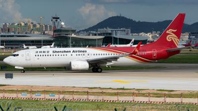 B-1711 - Boeing 737-87L - Shenzhen Airlines