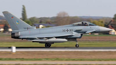 30-93 - Eurofighter Typhoon EF2000 - Germany - Air Force