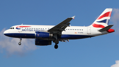 A picture of GEUPD - Airbus A319131 - British Airways - © Ferenc Kolos