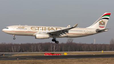 A6-EYN - Airbus A330-243 - Etihad Airways