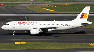 EC-KOH - Airbus A320-214 - Iberia Express