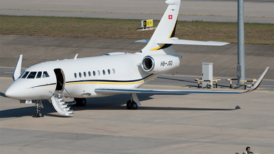 HB-JGD - Dassault Falcon 2000EX - MSC Aviation