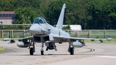 ZK365 - Eurofighter Typhoon FGR.4 - United Kingdom - Royal Air Force (RAF)