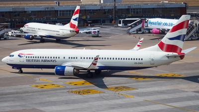 ZS-ZWS - Boeing 737-86N - Comair