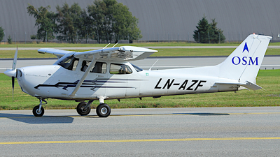 LN-AZF - Cessna 172S Skyhawk SP - Scandinavian Aviation Academy