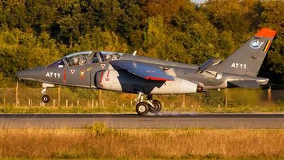 AT-11 - Dassault-Breguet-Dornier Alpha Jet 1B+ - Belgium - Air Force