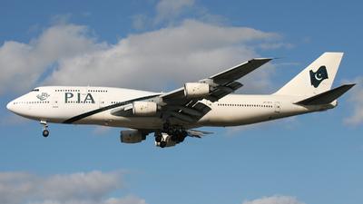 AP-BFV - Boeing 747-367 - Pakistan International Airlines (PIA)