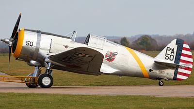 G-CIXJ - Curtiss Hawk P-36C - Private