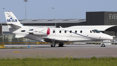 OO-SLM - Cessna 560XL Citation XLS - Abelag Airways