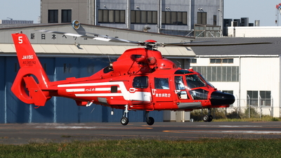 A picture of JA119G - Airbus Helicopters AS365 Dauphin - [6893] - © Yoshiharu Ozaki