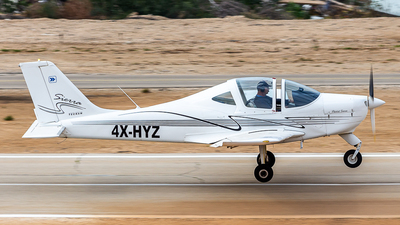 4X-HYZ - Tecnam P2002 Sierra - Private