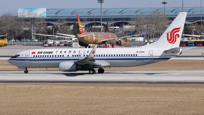 B-5341 - Boeing 737-89L - Air China