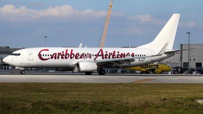 9Y-SXM - Boeing 737-8HO - Caribbean Airlines