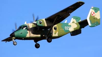 0222 - PZL-Mielec M-28B/PT Skytruck - Poland - Air Force