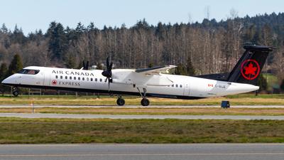 A picture of CGIJZ - De Havilland Canada Dash 8400 - Air Canada - © CJMAviation