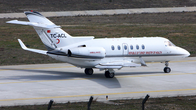 TC-ACL - Raytheon Hawker 900XP - Turkey - Ministry of Health