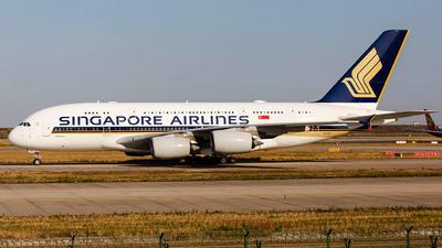 9V-SKS - Airbus A380-841 - Singapore Airlines - Flightradar24