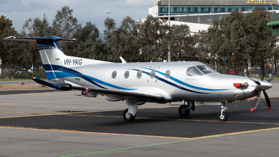 VH-YKG - Pilatus PC-12/47E - Private