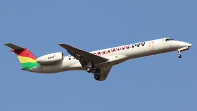 9G-AET - Embraer ERJ-145LI - Africa World Airlines