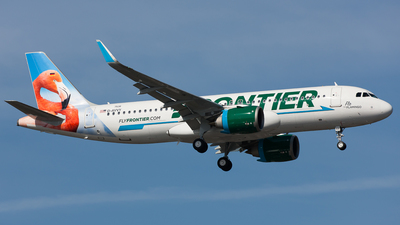 D-AVVY - Airbus A320-251N - Frontier Airlines