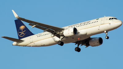 HZ-AS79 - Airbus A320-214 - Saudi Arabian Airlines