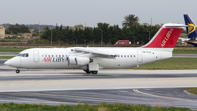 5A-FLE - British Aerospace Avro RJ100 - Air Libya