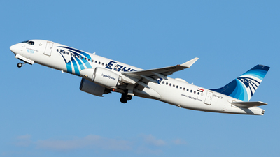 A picture of SUGEY - Airbus A220300 - EgyptAir - © Daniel Nagy