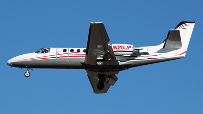 N120JP - Cessna 550 Citation II - Private