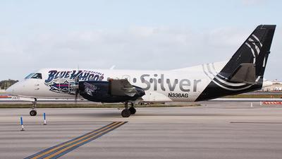 N336AG - Saab 340B - Silver Airways