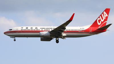 A picture of B1753 - Boeing 73789P - China United Airlines - © Nishinomiya