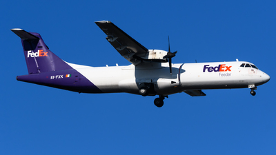 A picture of EIFXK - ATR 72202(F) - FedEx - © Chris Jilli
