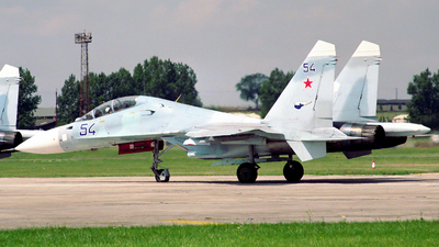54 - Sukhoi Su-30 - Russia - Air Force