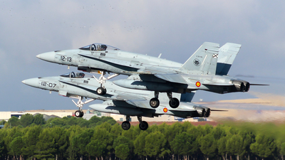 C.15-55 - McDonnell Douglas EF-18M Hornet - Spain - Air Force