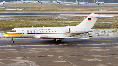 14-01 - Bombardier BD-700-1A11 Global 5000 - Germany - Air Force