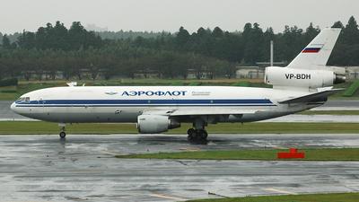 VP-BDH - McDonnell Douglas DC-10-40(F) - Aeroflot Cargo