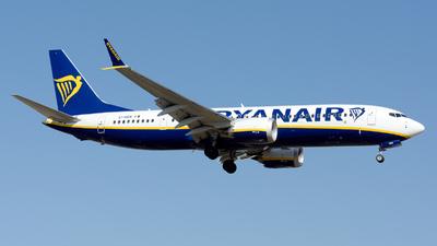 A picture of EIHEN - Boeing 737 MAX 8200 - Ryanair - © Toni Marimon