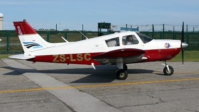 ZS-LSC - Piper PA-28-180 Cherokee C - Eagle Air Flight School
