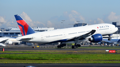 A picture of N709DN - Boeing 777232(LR) - Delta Air Lines - © JKKW