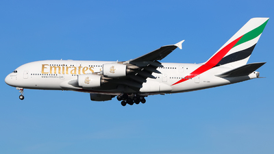 A6-EDX - Airbus A380-861 - Emirates