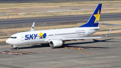 JA737Z - Boeing 737-82Y - Skymark Airlines