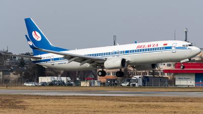 A picture of EW437PA - Boeing 7378K5 - Belavia - © Wojtek Raczynski