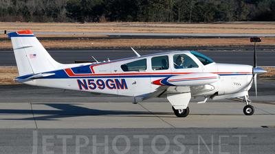 A picture of N59GM - Beech F33A Bonanza - [CE964] - © Agustin Anaya