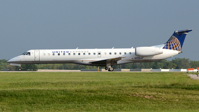 N11547 - Embraer ERJ-145LR - United Express (ExpressJet Airlines)