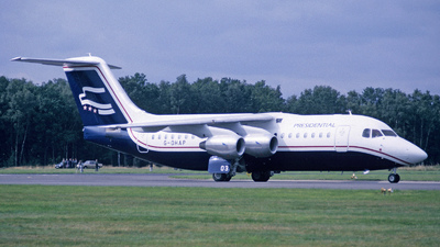 G-OHAP - British Aerospace BAe 146-200 - Presidential Airways